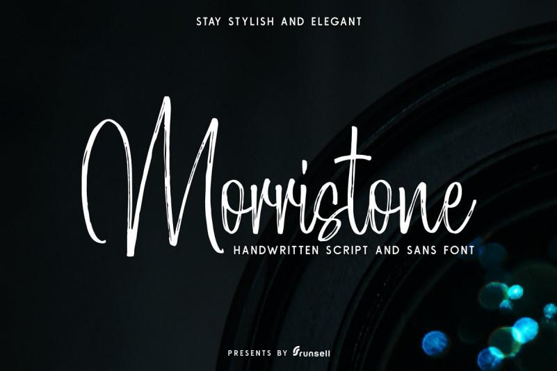 Morristone Font Duo