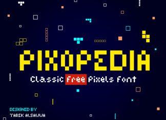 Pixopedia - Free Font