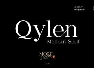 Qylen Serif Font