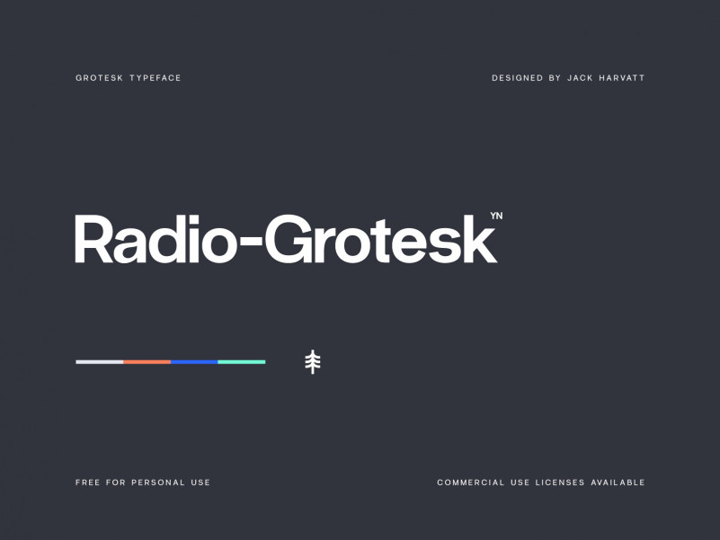 Radio Grotesk Font Family