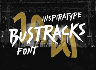 Bustracks Font