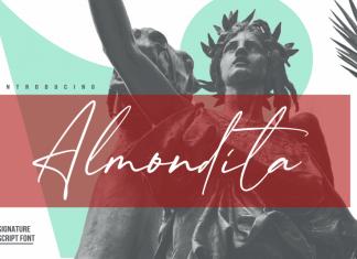 Almondita Signature Script Font