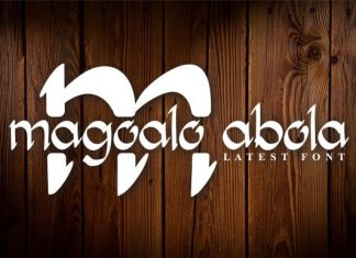 Magoalo Abola Font