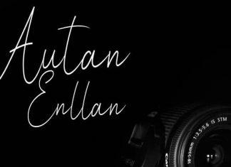 Autan Enllan Handwritten Font