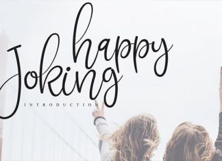 Joking Happy Calligraphy Font