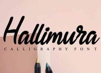 Hallimura Script Font