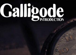 Galligode Font