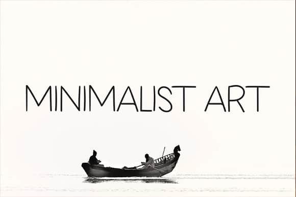MINIMALIST ART Font
