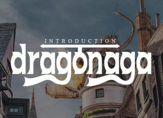 Dragonaga Display Font