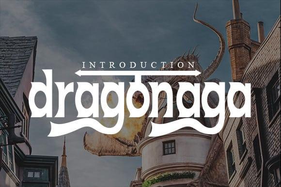 Dragonaga Display Font