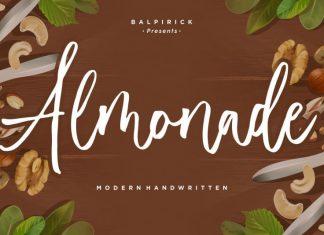 Almonade Modern Handwritten Font