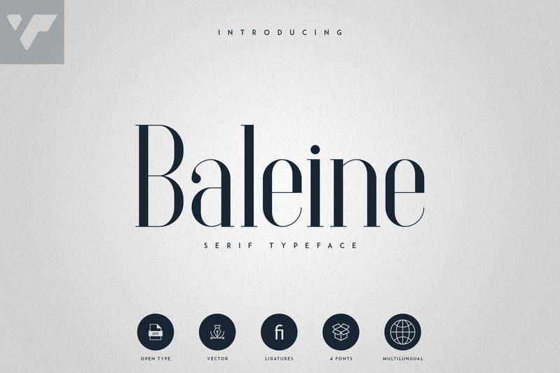 Baleine Serif Font