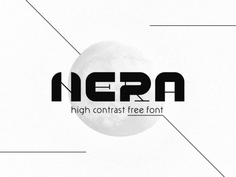 NERA Display Font