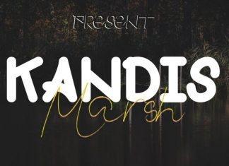 Kandis Marsh Font Duo