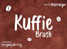 Kuffie Display Font