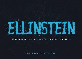 Ellinstein Brush Font