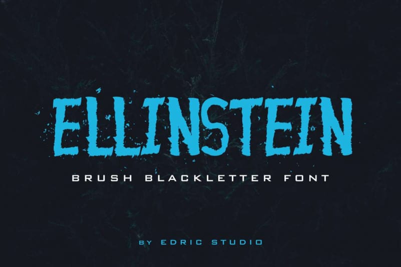 Ellinstein Brush Font