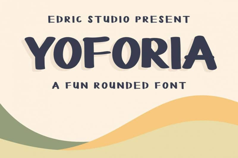YOFORIA Rounded Font