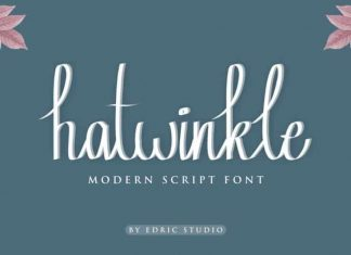 Hatwinkle Calligraphy Font