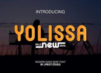 Yolissa Sans Serif Font