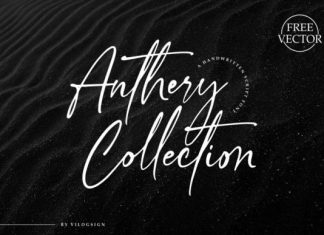 Anthery Collection Script Font