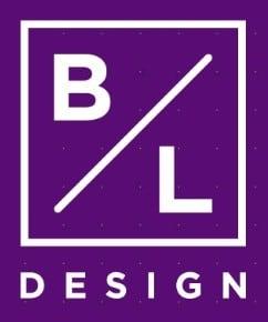 B L Design Logo Font