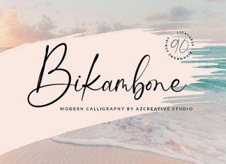 Bikambone Script Font
