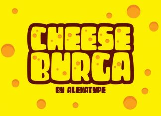 Cheeseburga – Chubby Cute Font