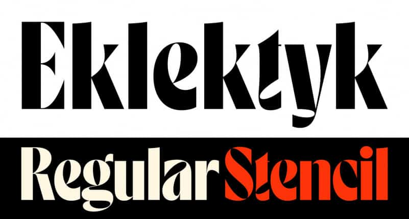 Eklektyk Display Font