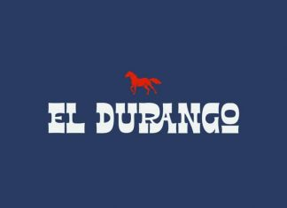 El Durango Display Font