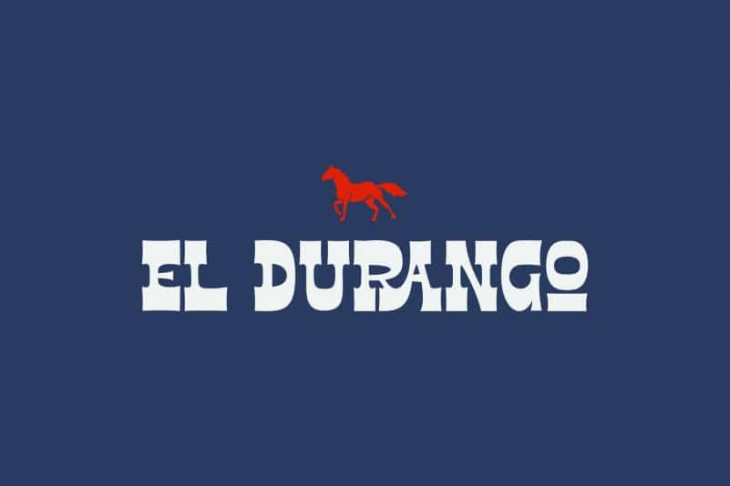 El Durango Display Font
