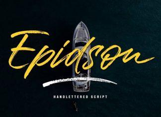 Epidson Brush Script Font