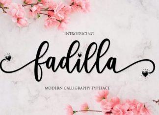 Fadilla Script Font