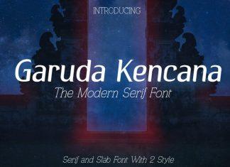 Garuda Kencana - Modern Serif Font