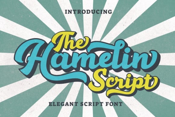 Hamelin Script Font