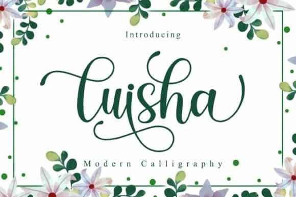 Luisha Script Font