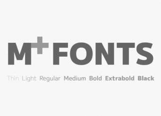 M+ Sans Serif Font