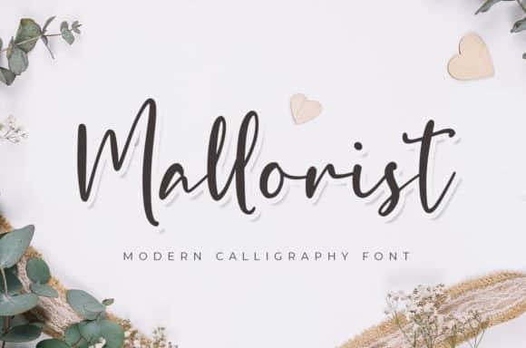 Mallorist Calligraphy Font