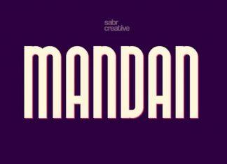 Mandan Typeface