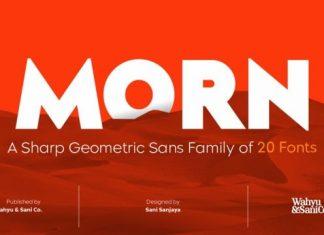 Morn Sans Serif Font Family