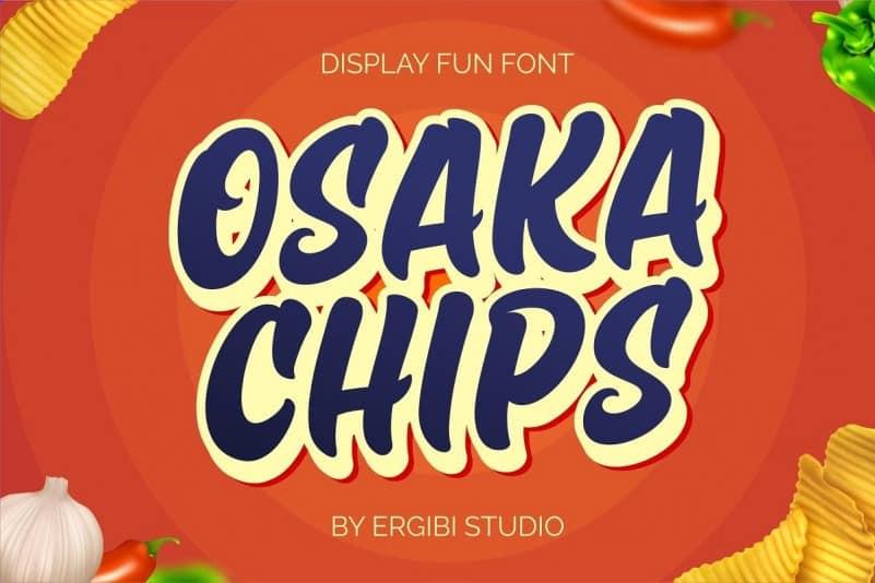 Osaka Chips - Fun Font