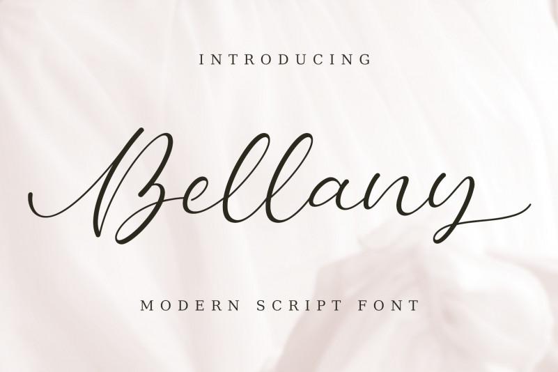 Bellany Script Font