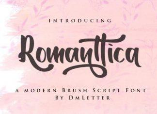 Romanttica Script Font
