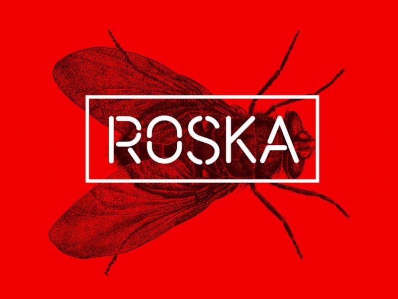 Roska - Stencil Font