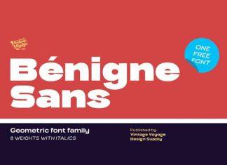 Benigne Sans Font Family