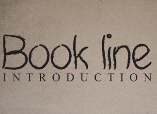 Book Line Handwritten Font