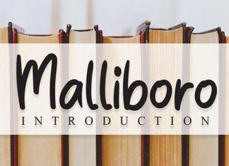 Malliboro Script Font