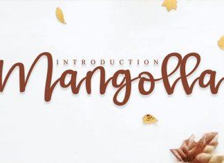 Mangolla Script Font