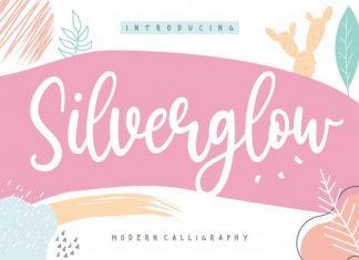 Silverglow Playful Modern Calligraphy Font