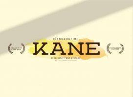 Kane Slab Serif Font